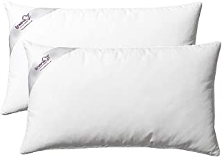 Linens Limited - 2 Almohadas de Plumas y plumón de Pato