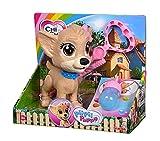 Simba 105893460 Chi Chi Love Pii Pii Puppy - Perro para pasear al Perro, Hace Pipi, a Partir de 3 años, 20 cm