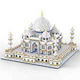 SEMKY Micro Mini Blocks Taj Mahal Building and Architecture Model Set,(4000Pieces) -3D Puzzle Castle Toys Gifts for Kid and Adult