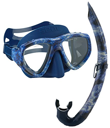 SEAC One Camouflage Spearfishing Freediving Mask...