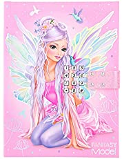 Depesche 11519 TOPModel Fantasy - dagboek met geheim-code en geluid, 80 gelinieerde pagina's voor het noteren van ideeën, gedachten en gevoelens, ca. 20,5 x 15 x 3 cm