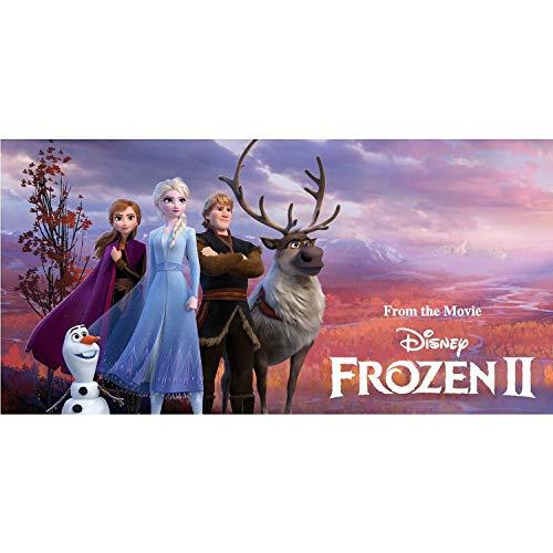 Carbotex Disney´s Die Eiskönigin Badetuch Mädchen Handtuch Strandtuch Duschtuch 70x140 Baumwolle Kinder Badehandtuch Frozen ELSA Anna Olaf