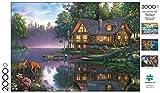Buffalo Games - Kim Norlien - Cabin Fever - 2000 Piece Jigsaw Puzzle