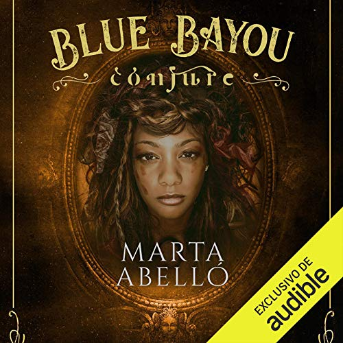 Diseño de la portada del título Blue Bayou: Conjure