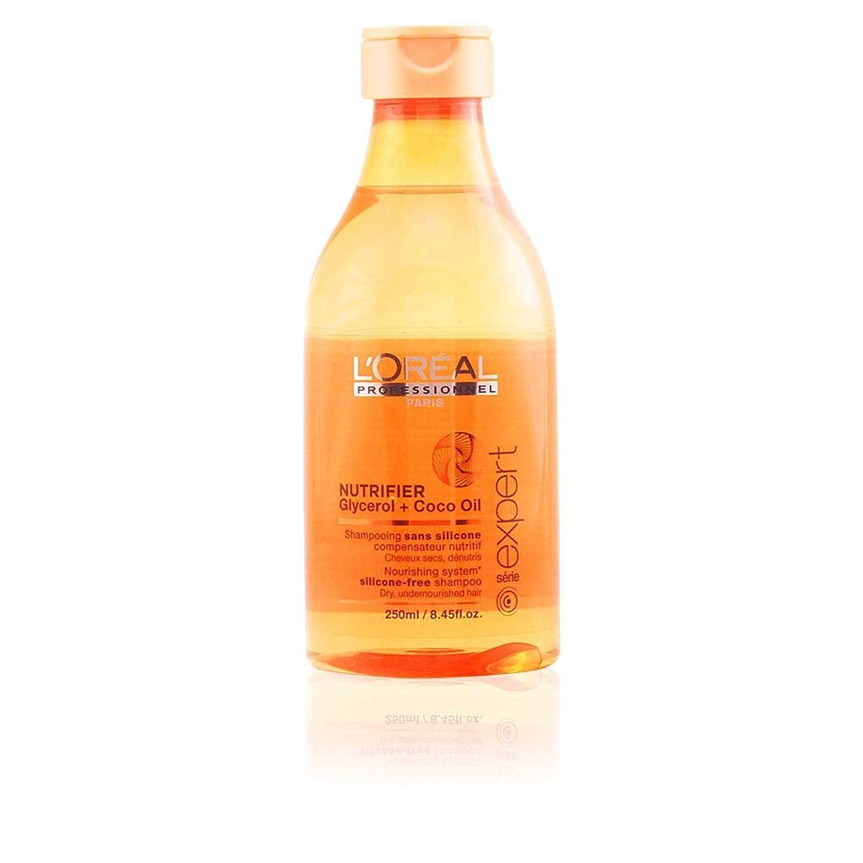 概念傭兵遺伝的L'Oreal Serie Expert Glycerol + Coco Oil NUTRIFIER Nourishing System Silicone-Free Shampoo 300 ml [並行輸入品]