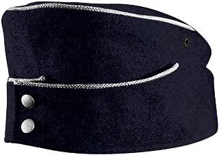 WW2 German M42 Kriegsmarine Officer Overseas Cap Navy Blue