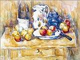 Poster 90 x 70 cm: Äpfel auf einem Geschirrbord von Paul