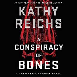 A Conspiracy of Bones audiobook cover art