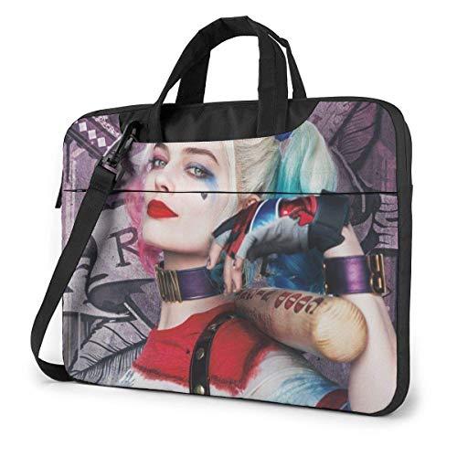 15.6 inch Laptop Shoulder Briefcase Messenger Har-Ley Qu-Inn Tablet Bussiness Carrying Handbag Case Sleeve