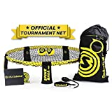 Spikeball Pro Roundnet Kit (Tournament Edition) - Includes Upgraded Stronger Playing Net, New Balls Designed to Add Spin, Portable Ball Pump Gauge, Backpack - As Seen on Shark Tank TV