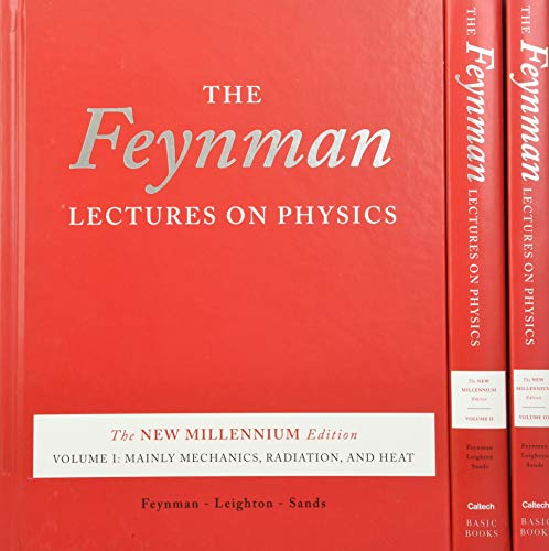 Compare Textbook Prices for The Feynman Lectures on Physics, boxed set: The New Millennium Edition New Millennium ed. Edition ISBN 8601404346682 by Feynman, Richard P.,Leighton, Robert B.,Sands, Matthew