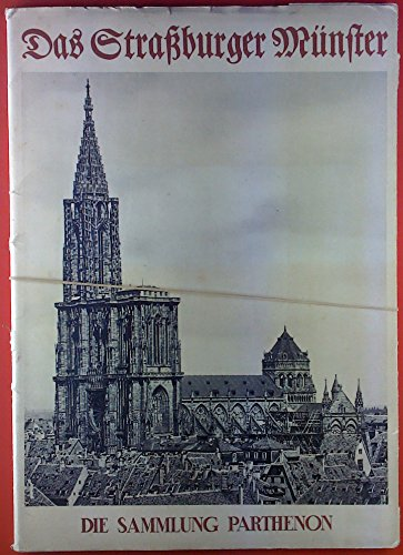 DIE SAMMLUNG PARTHENON. Mappe mit 42 Tafelbildern in Kupfertiefdruck und einleitendem Text: Das Freiburger Münster. Herausgegeben und eingeleitet von Ludwig Grote.