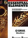 ESSENTIAL ELEMENTS 2 - arrangiert für Altsaxophon - mit CD [Noten / Sheetmusic] aus der Reihe: YAMAHA BLAESERKLASSE