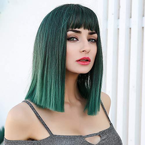 comprar pelucas verde on-line