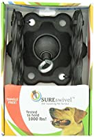 SUREswivel 360 degree Swiveling Pet Tie-Out, Made in the USA by SUREswivel