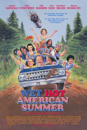 Pop Culture Graphics Wet Hot American Summer Poster Movie 11x17 Janeane Garofalo David Hyde Pierce Michael Showalter