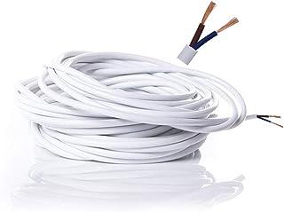comprar comparacion Cable eléctrico de 2 núcleos de PVC Cable Eléctrico de Alambre de Cobre de Alta Resistencia a la Temperatura 2 x 0,75 mm² ...