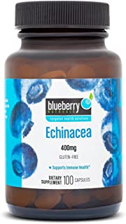Blueberry Naturals Echinacea 400 mg Capsules 100's