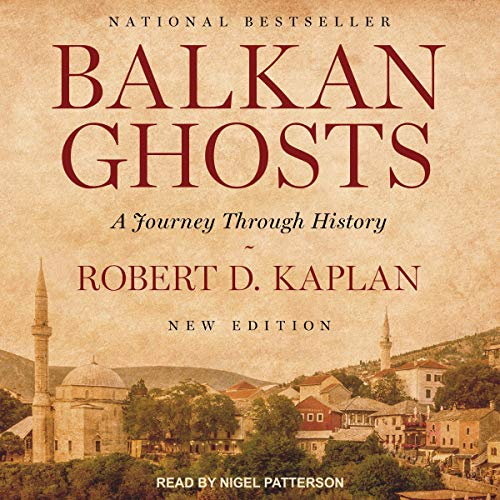 Balkan Ghosts audiobook cover art
