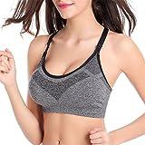 ECYC Frauen Shockproof Sport Bras Professionelle Laufen Yoga Shirt Weste Tops -