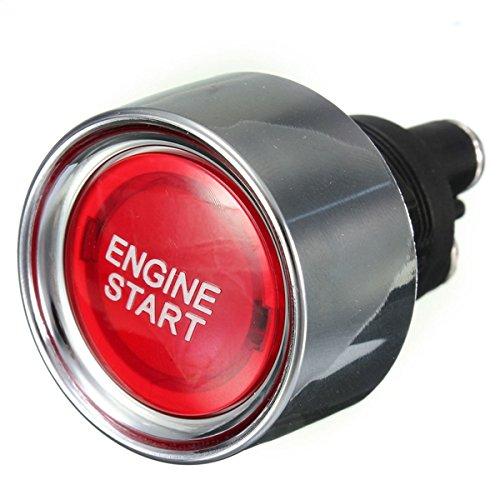 Wooya Universal Motor Auto Illuminated Push Button Engine Start Starter Switch
