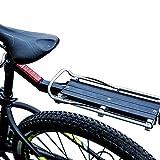 VOANZO Bicicletta Bicicletta Lega di alluminio Quick-Release Carrier Rack Sedile Posteriore...