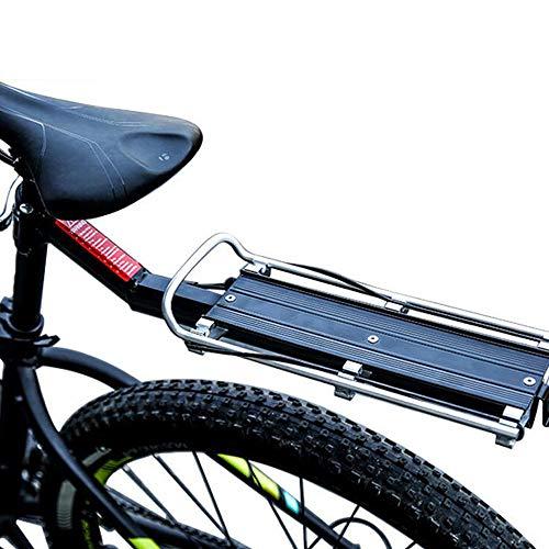 VOANZO Vanzo Fahrradträger aus Aluminiumlegierung, Schnellspanner, Sattelstütze, hintere Ablage für Fahrräder, 30 kg Belastung