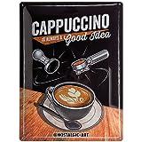 Nostalgic-Art 23237, Coffee & Chocolate, Cappuccino Good