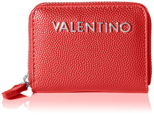 Mario Valentino Valentino by Damen Divina Geldbörse, Rot (Rosso), 2.5x10.5x14.5 cm
