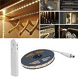 Luz de armario para sensor de movimiento, 2M 120 LED...