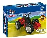 fischertechnik Carts - Set de construcción de carts, 3 Modelos (505279)
