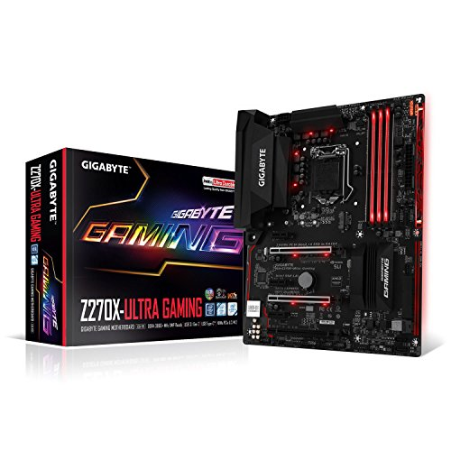 Gigabyte GA-Z270X-Ultra Gaming Carte mère Intel...