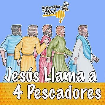 Jesús llama a 4 pescadores