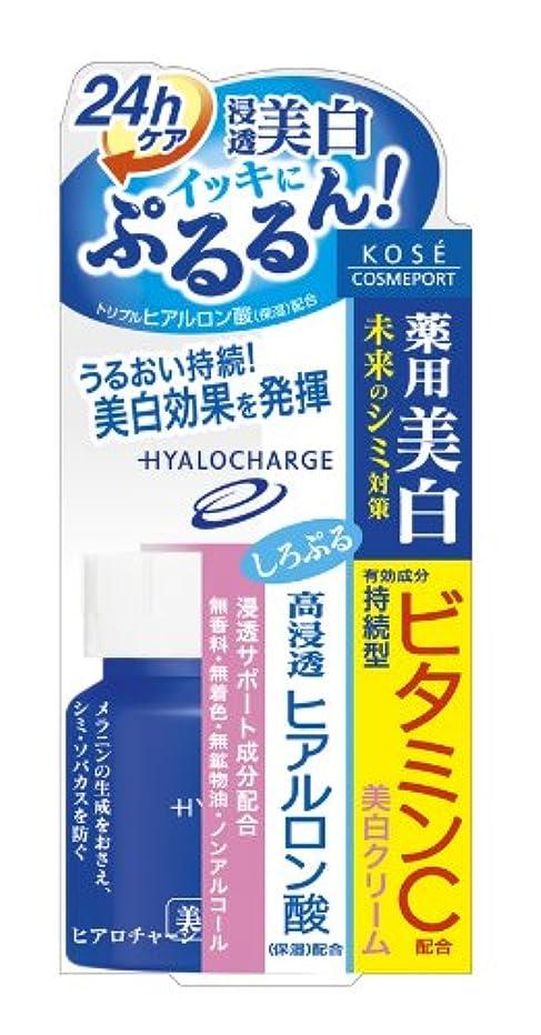 優雅な流用する覆すヒアロチャージ 薬用 ホワイト クリーム 60g