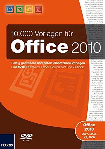 10.000 Vorlagen für Office 2010 [import allemand]