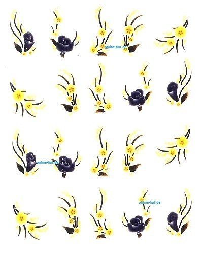 One-Stroke-Sticker Blumen 1114