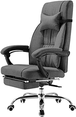 Video Game Chairs Office Chair Ergonomic Chair Computer Chair Home Swivel Chair Leisure Boss Chair Gray