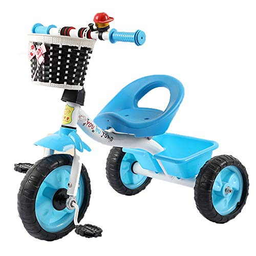 Affordable Kids Tricycle - Extra Tall 3 Wheel Kids Trike - for Toddlers and Kids Ages 1-6 Adjustable...