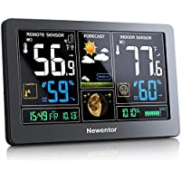 Newentor Wireless Digital Color Display Weather Thermometer