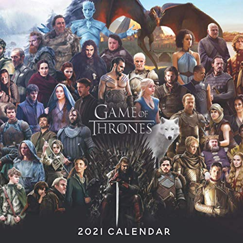Game of Thrones 2021 Calendar