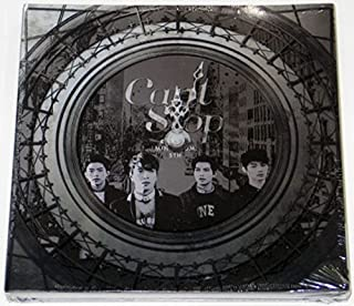 CNBLUE - Can't Stop Ⅱ(5th Mini Album Part 2) CD+Standing Paper+Folded Poster+Extra Gift Photo