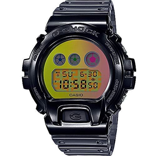 Casio G-Shock Men's DW6900SP-1 DW-6900 1995-2020 Digital Watch Black