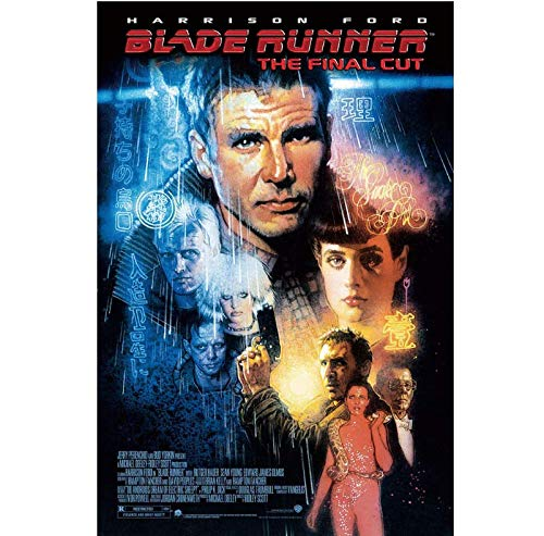 Carteles E Impresiones Classic Movie 1982 Blade Runner Art Poster Canvas Painting Home Decor Sin Marco 40X60Cm