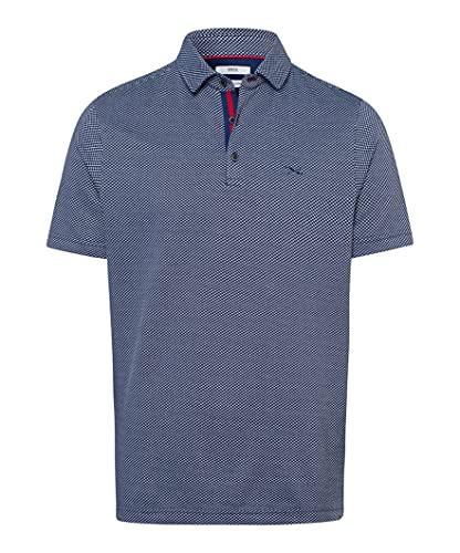 BRAX Herren Poloshirt Style PAN Ocean blau - XL