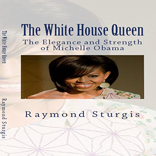 The White House Queen audiobook cover art