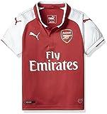 Puma Afc Home Camiseta de Fútbol, niños, Rojo, L (Talla del fabricante: 152)