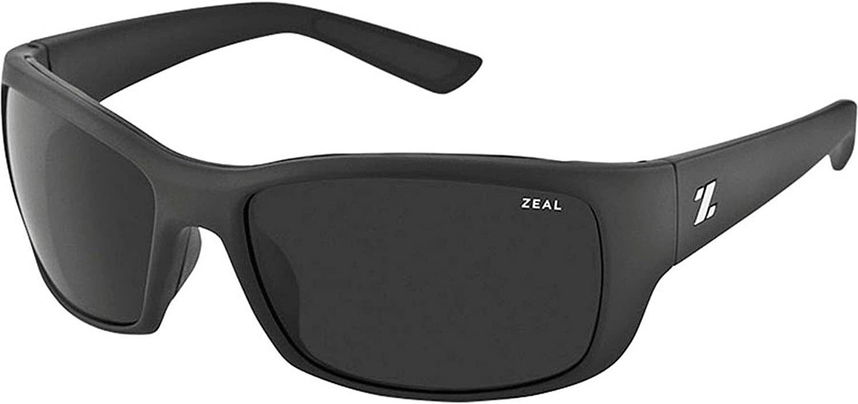 Zeal Optics Unisex Tracker Tactical Black W Polarized Dark Grey Lens Sunglasses