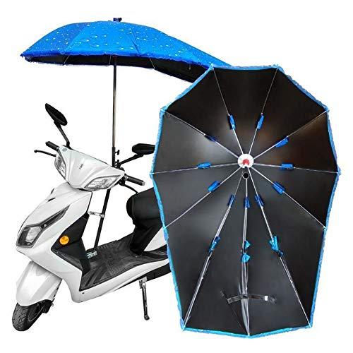 XIONGGG Motorrad Regenschirm Dach Baldachin Wasserdicht Universal Auto Motorroller Mobilität Sonnenschutz Regenschutz