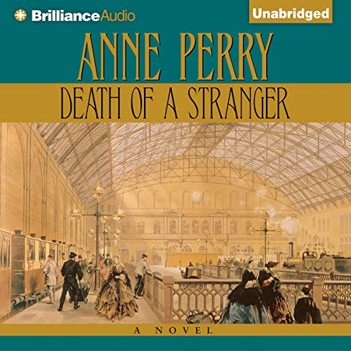 Death of a Stranger audiobook cover art