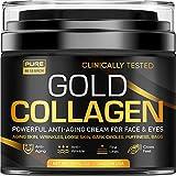 Gold Collagen Cream - Anti Aging Face Moisturizer...